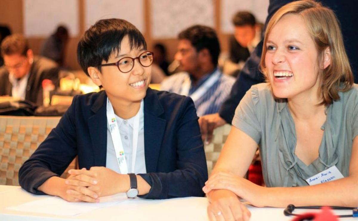 Young reformers present innovative projects at global gath